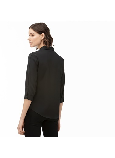 Lacoste Kadın  Gömlek CF0002.02S Siyah